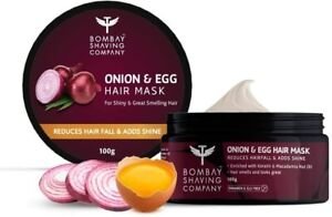 Bombay Shaving Onion & Egg Hair Mask for Hair fall and Breakage Control freeship