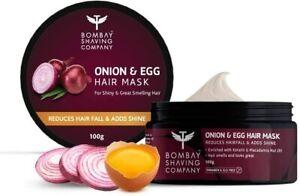 Bombay Shaving Onion & Egg Hair Mask for Hair fall and Breakage Control freeship