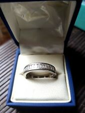 Mens Diamond Baguette Platinum Ring (SIZE U) VS1