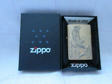 More details for zippo lighter -  where eagles dare brass zippo - new