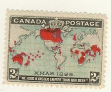 Canada Stamp Scott # 86 1898 2-Cents Xmas Blue MH