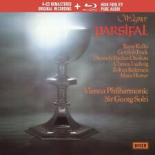 PARSIFAL (LIMTED EDITION) - SOLTI/WP/LUDWIG/KOLLO/+  WAGNER,R 4 CD+BLU-RAY NEUF