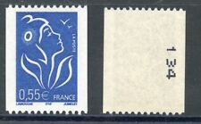 STAMP / TIMBRE FRANCE NEUF N° 3807 ** MARIANNE  / ROULETTE N° NOIR AU DOS