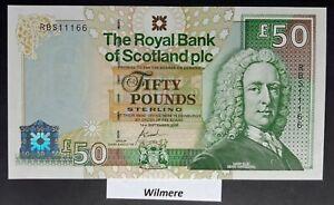 Royal Bank of Scotland £50 (P367) 2005 RBS prefix  *UNC*