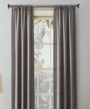 Room-darkening Soft Polyester Rod Pocket Thermal Solid 30 x 84 grey woven panels