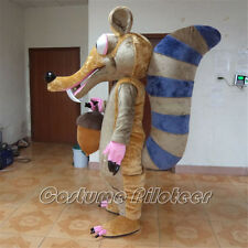 High Quality Ice Age Scrat squirrel Cartoon Mascot Costume Fancy party Dress
