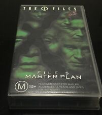 X-Files File 5 The Master Plan [VHS]