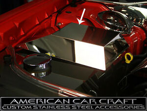 2008-2012 Dodge Challenger R/T & SRT-8 6.1L Polished Fuse Box Cover Made In USA
