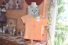 tee shirt repetto neuf  4 ans la ballerine orange voir jupe+