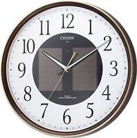 CITIZEN wall clock Eco Life M807 radio clock Solar Powered F/S w/Tracking# Japan