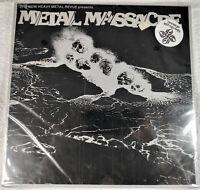 METALLICA - Metal Massacre 1 First Print SEALED! Lloyd Grant HOLY GRAIL Oz Tag