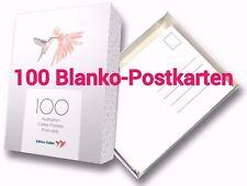 """100-er Box """"BLANKO-POSTKARTEN"""" zum Selbstgestalten, Malen, Postcrossing etc."""