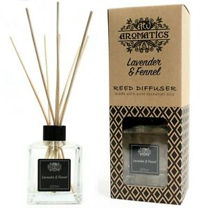 Essential oil reed diffuser 200ml various scents for living rooms hallways etc