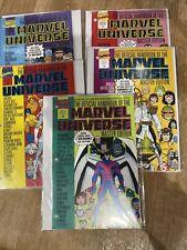 lot of 5 handbook marvel universe 16 17 19 20 22 sealed Master Edition