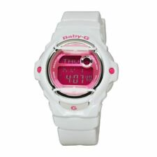 Casio Baby-G Womens Wrist Watch BG169R-7 BG-169R-7D White Pink