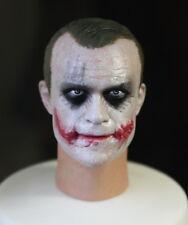 Custom Banque Voleur Joker 1.0 DX01 DX11 1/6 HEAD SCULPT FOR Hot Toys Body