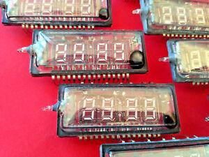 IVL2-7/5 ИВЛ2-7/5 VFD clock display tube soviet ussr NEW RARE NOS in box 100pcs