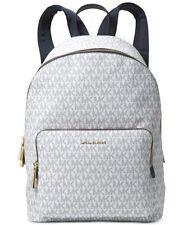 Michael Kors Wythe Large Backpack Light Blue Vanilla Jet Set Signature MK Print