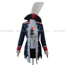 Hetalia: Axis Powers Prussia Gilbert Julchen Reversion Female Cosplay Costume