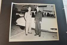 Vintage Photo RARE 1948 Davis Divan 3 Wheel Car at Factory 892012