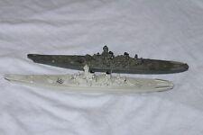 2 Stück Wiking Modell WM 1:1250 Schlachtschiff