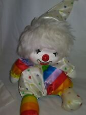 Musical Clown 'Send in the Clowns' Movable Wind-Up Brite Colors 1986 Potter Co.