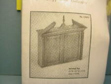 Miniature Chippendale Secretary Top Kit #13005 Houseworks 1/12 Scale