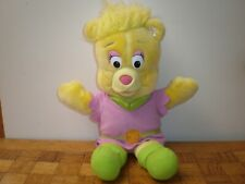 "Fisher-price Disney's GummiBears ""Sunni Gummi"" peluche vintage 1985 +/- 35 cm"