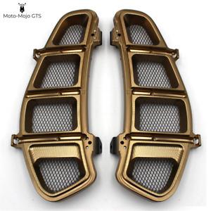 Vespa GTS GTV GT Side Grills Vents Bronze 125 200 250 300