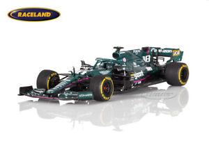 Aston Martin AMR21 Mercedes Cognizant F1 GP Bahrain 2021 Lance Stroll Spark 1:43
