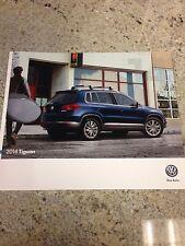2014 VW Tiguan 28-page Original Sales Brochure