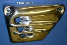 Yamaha V-Max 1200 Vent Type Side Panels in Polished Aluminium © Exactrep
