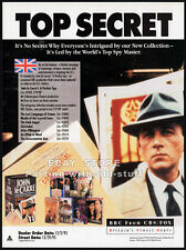 John le Carre: A PERFECT SPY__Orig. 1993 Trade print AD__Masterpiece Theatre_BBC