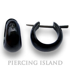 Kleine Ohrringe Goa Creolen Horn Piercing Schmuck ER100