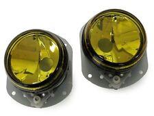 06-09 Mercedes W209 CLK Class Sport Pkg OE Replacement Yellow Lens Fog Light Set