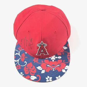 Mike Trout Signed Hat PSA/DNA Los Angeles Angels Autographed