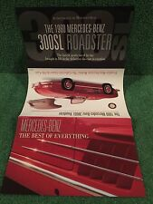 "Franklin Mint ""1960 Mercedes-Benz 300SL Roadster"". Brochure!"