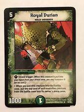 Royal Durian Duel Masters DM11 Rare card TCG CCG