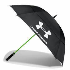 "Golf Under Armour Umbrella UA 68"" Double Canopy Rain Wind Protector Umbrella"
