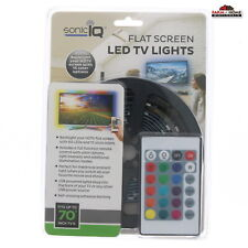 LED TV Backlight Strip Color Changing w/ Remote ~ New