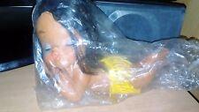 Vintage Rubber Doll Hula Hawaiian Kissing Sun Bathing Made in Korea Retro Vinyl
