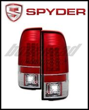 Spyder Ford F150 Styleside 97-03/F250 Version 2 LED Tail Lights Red Clear