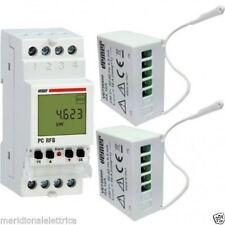 VEMER VE737300 KIT CONFIGURATO CENTRALINA+2 ATTUATORI REMOTI RF  wirelessPCRF8