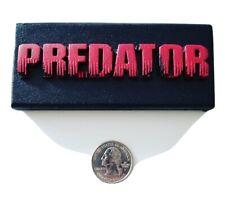 Predator Display Plaque