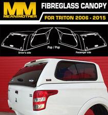 Fibreglass Canopy For Mitsubishi Triton MN Dual Cab POP/POP 2009-15