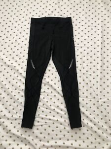 CW-X Women's Medium Stabilyx Joint Support Compression Tight Athletic Leggings