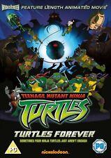 Ninja Mutant Ninja Turtles: Turtles Forever UK REGION 2 DVD
