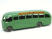 Matchbox Lesney No.21b Bedford Duple Luxury Coach (RARER LIGHT GREEN WITH GPW)