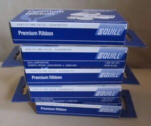 Quill Premium Ribbons Universal Electronic Printing Calculator Black Red 7-11309