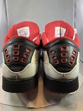 Nike Air Jordan Shoes White Red Black Sports Athletic Basketball #350610-113